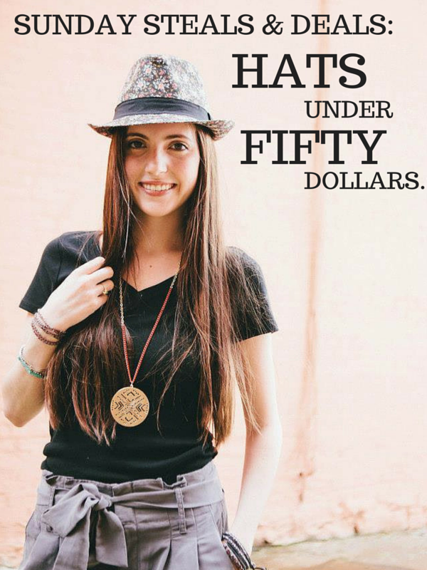 Check out some of the best deals on trendy summer hats!